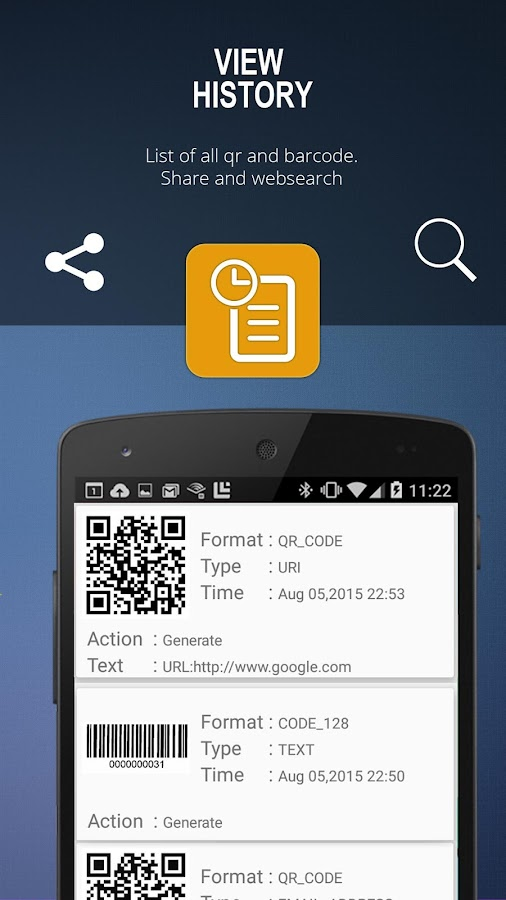 application scan qr code android