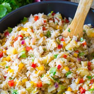 Caribbean Confetti Rice.