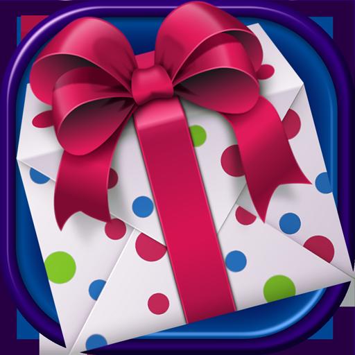 摄影の誕生日のグリーティングカード LOGO-記事Game