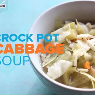 Crock Pot Cabbage Soup.