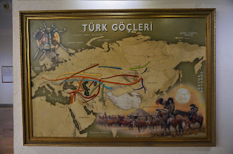 Photo: the spread of mongols and Turks