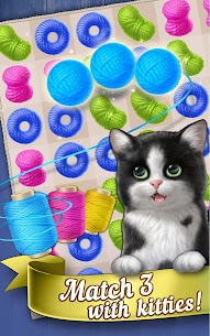 Knittens: Sweet Match 3 Puzzles & Adorable Kittens 6