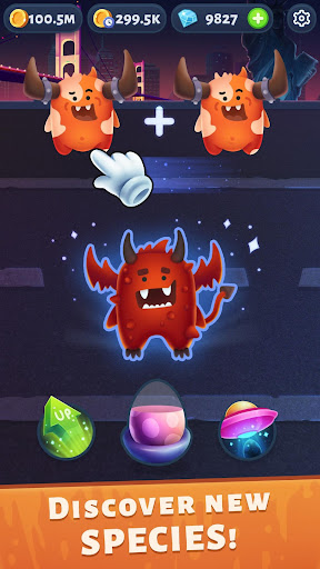 Monster Merger - Evolution Clicker  captures d'u00e9cran 2