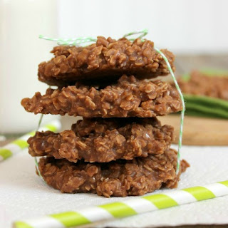 No Bake Cookies with Almond Milk.