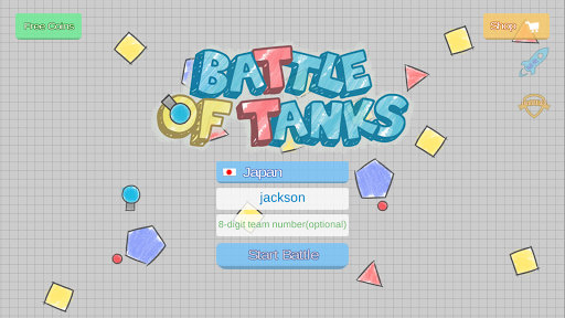 PiuPiu.io - Battle of Tanks 1.3.0.16 screenshots 1