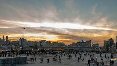 Photo: Abend am Taksim-Platz