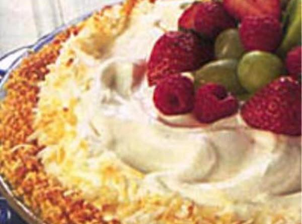 Coconut Almond Cream Pie Recipe