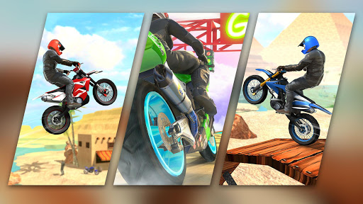 Racing Moto Bike Stunt -Impossible Track Bike Game apktram screenshots 15