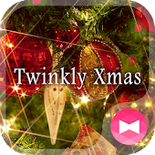 Wallpaper Twinkly Xmas Theme