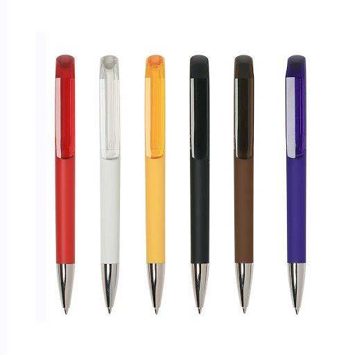 Flow Soft Pens with Transparent Clip