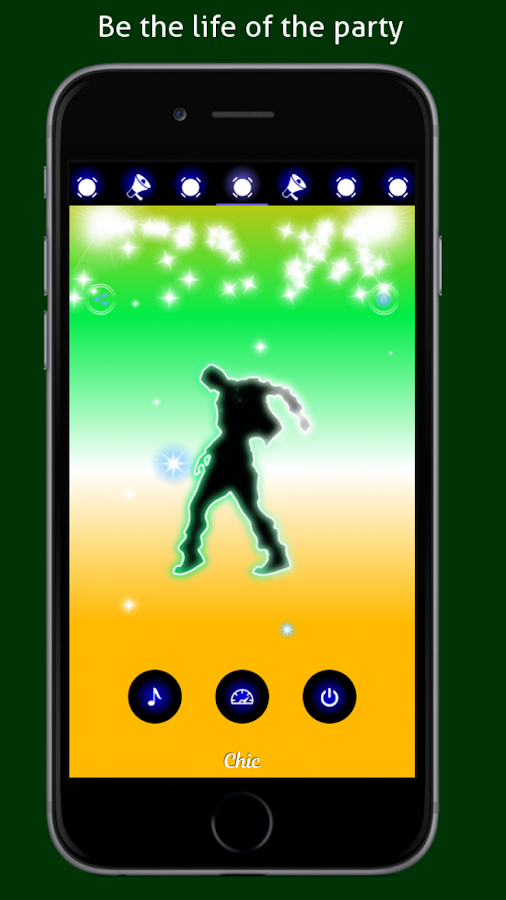 Disco Light: Flashlight with Strobe Light & Music- screenshot
