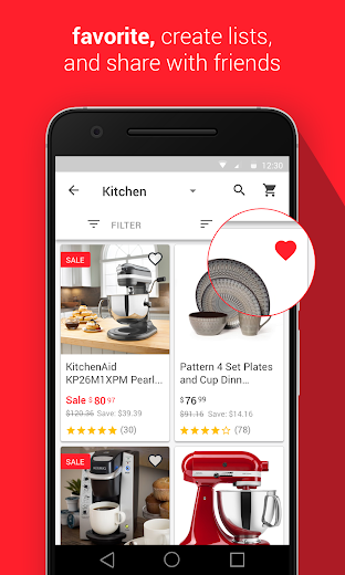 Screenshot 2 for Overstock.com's Android app'