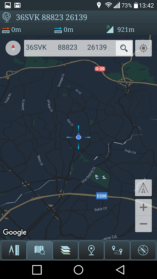 Mgrs & Utm Map- screenshot