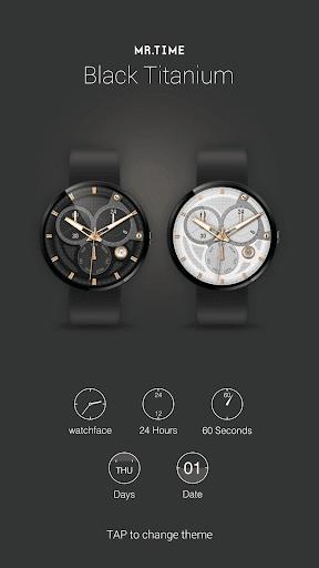 Mr.Time : Black Titanium