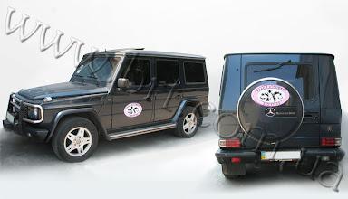 """Photo: Магнитные наклейки для такси. Заказчик: Такси """"Тройка"""""""