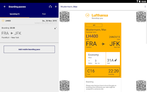 Lufthansa screenshot 9