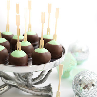 Mint Buttercream Truffles