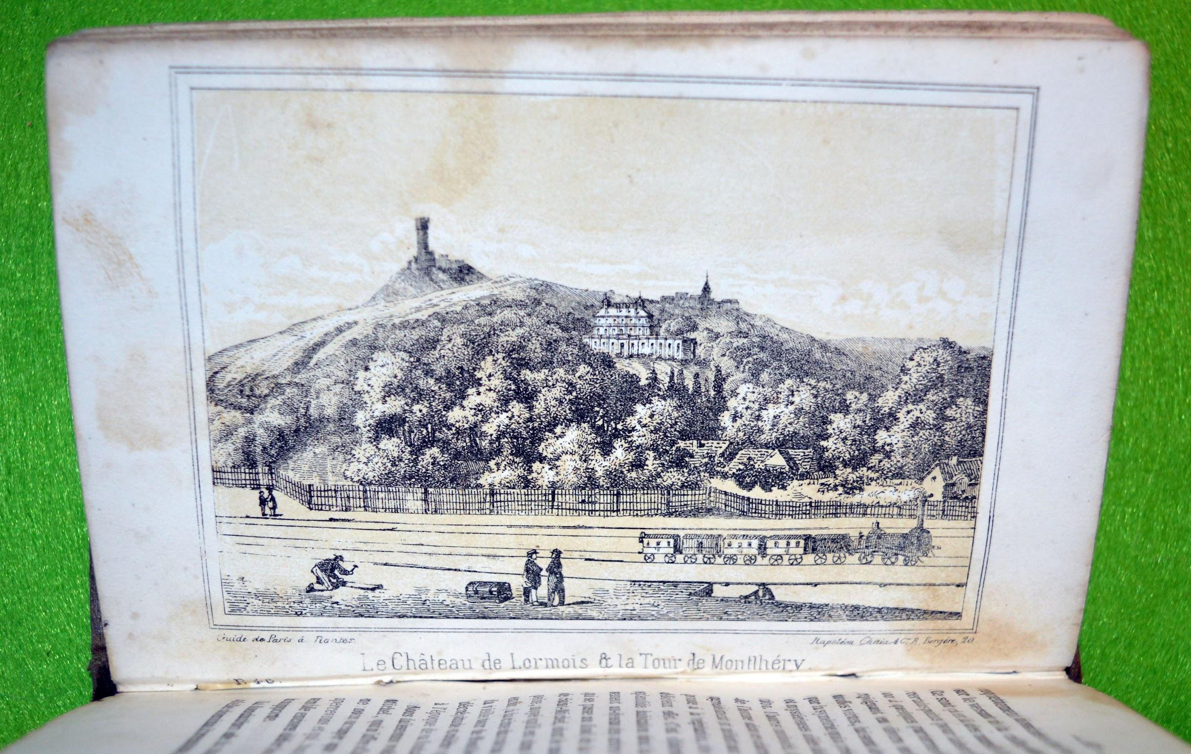 Von Paris nach Nantes - ein Reiseführer von ca. 1840