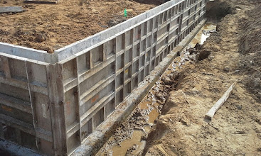 Photo: Dugout Foundation Forms 05-19-2014