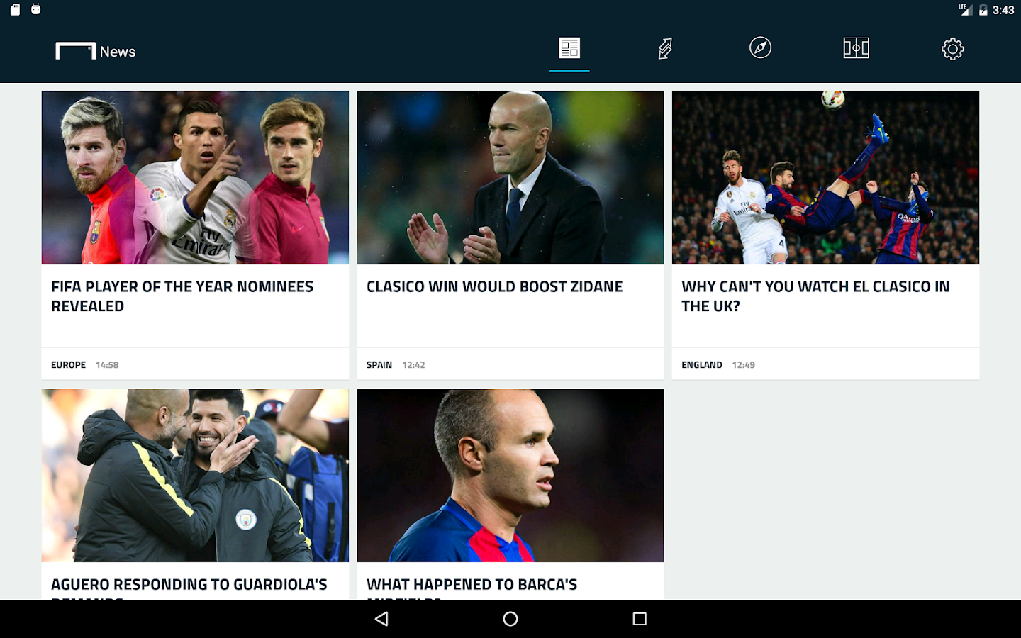 Goal.com- screenshot