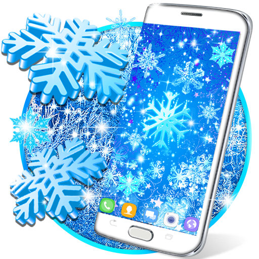 Snowflakes live wallpaper file APK for Gaming PC/PS3/PS4 Smart TV