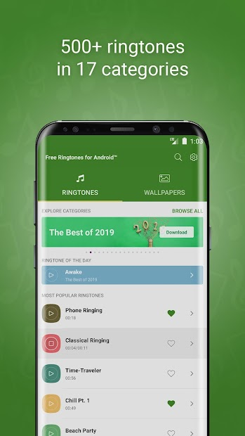 Free Ringtones for Android™ Android App Screenshot