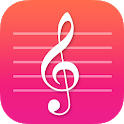 Note Flash -Learn Music Sight Read Piano Flashcard icon