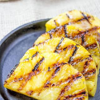 Brown Sugar Grilled Pineapple.