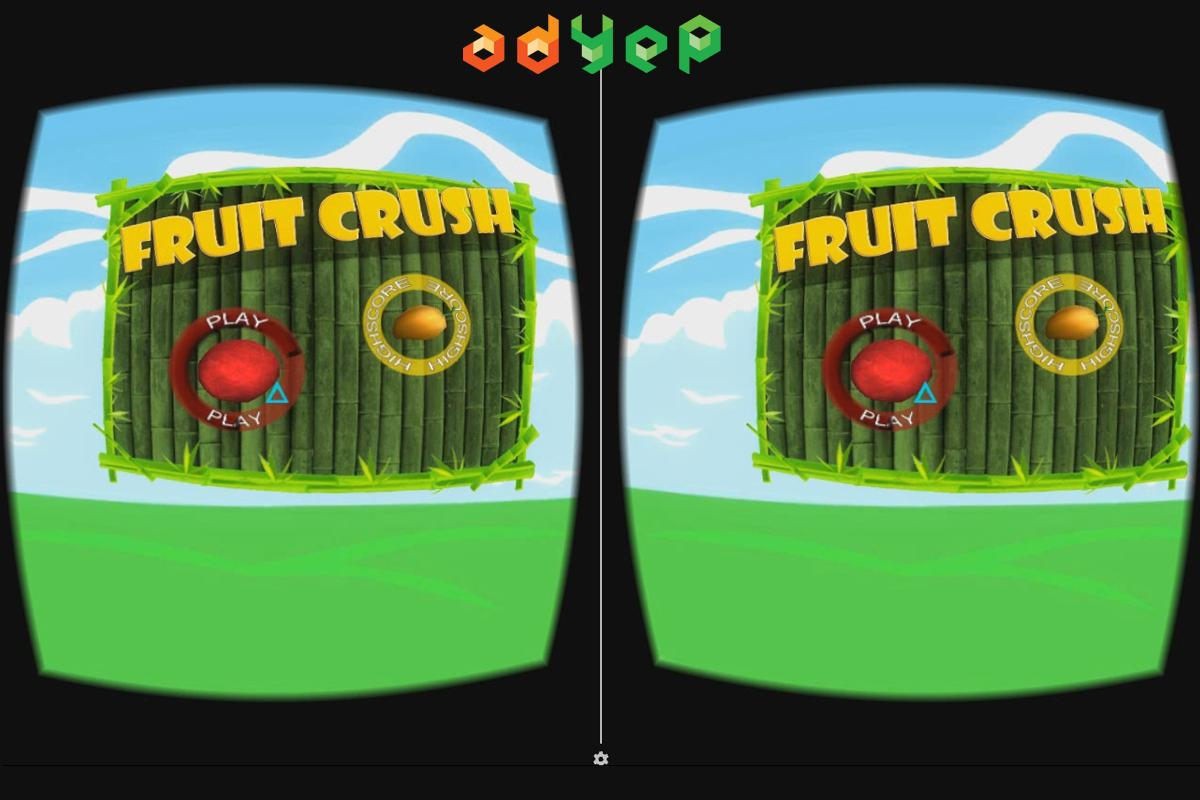 Fruit Crush VR Game- screenshot