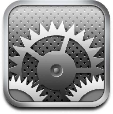 iOS의 움직이는 설정아이콘