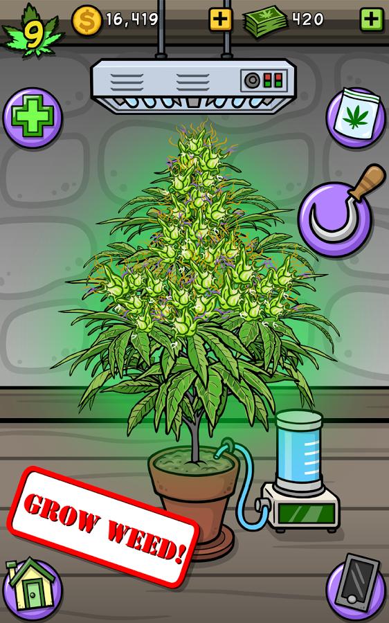 Screenshots of Pot Farm - Grass Roots for iPhone