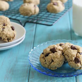 Healthier Chickpea Chocolate Chip Cookies