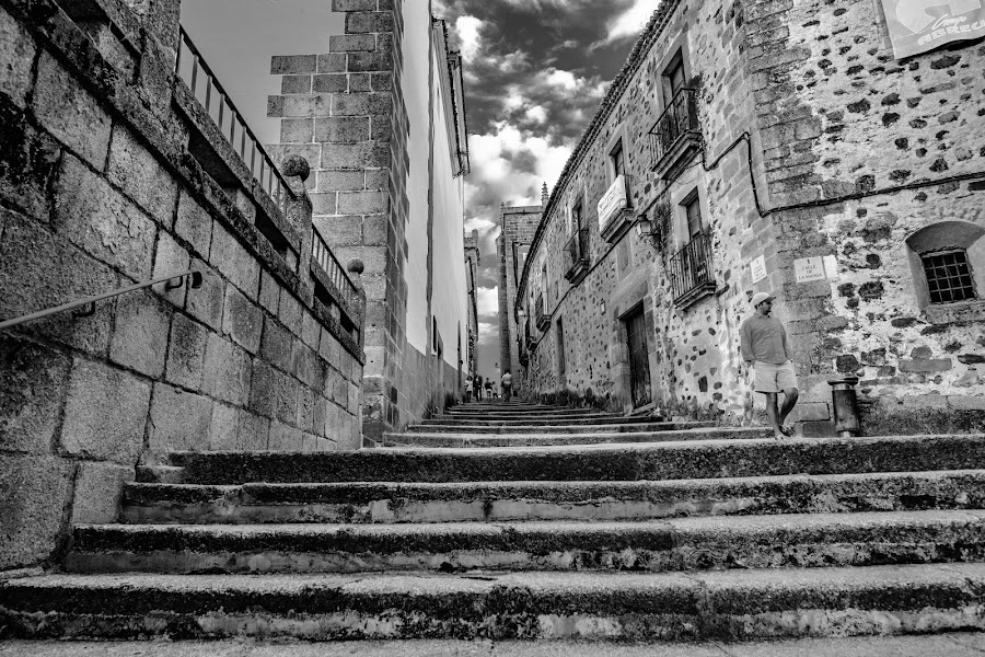 stairs by -. Phœnix .- - Black & White Buildings & Architecture