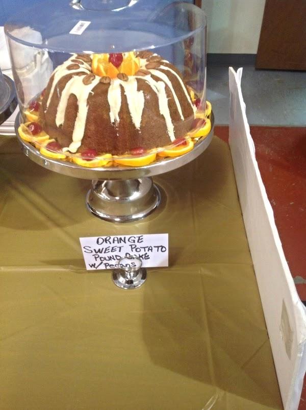Orange Sweet Potato Pound Cake W/orange Glaze Recipe