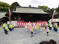 鳴子踊り「コンコン豊川」