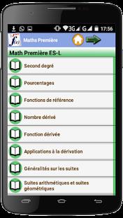 Maths Première - náhled