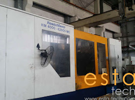 Krauss Maffei KM4000-62000MC (2006) Plastic Injection Moulding Machine