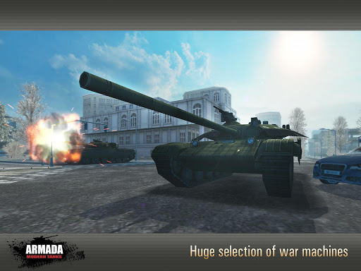 Armada: Modern Tanks - New Tank Fighting Game 3D 3.07 screenshots 9