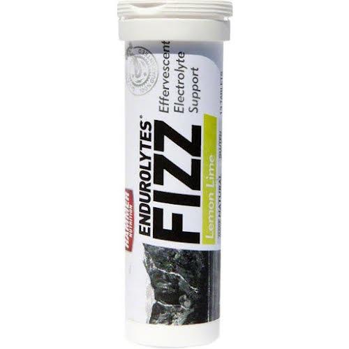 Hammer Nutrition Endurolytes Fizz: Lemon Lime Box of 12