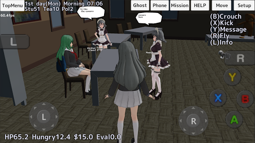 School Girls Simulator 1.0 screenshots 3