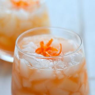 Orange Bourbon Smash.