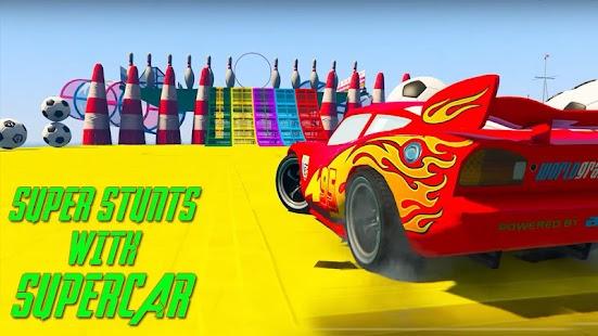 Superhero League (Lightning Car Stunts) - náhled