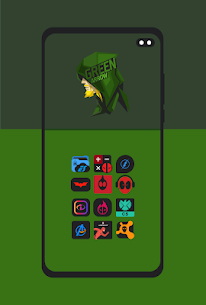 Supercons Dark – The Superhero Icon Pack (MOD, Paid) v2.0 4