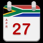 South Africa Calendar 2019 - 2020