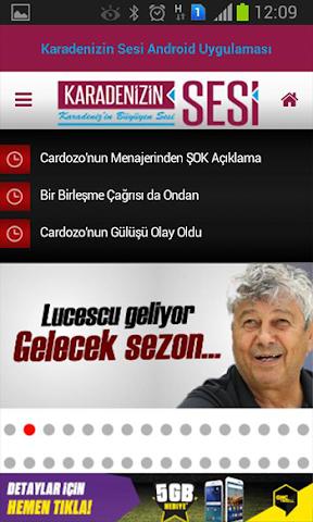 android Karadenizin Sesi Screenshot 1