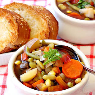 Gluten Free Vegetable Soup Crock Pot Recipes.