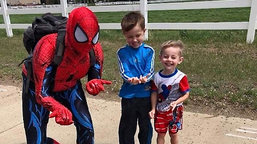 'Who is Spider-Man?' Costumed hero captures attention in Dickinson, ND