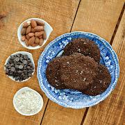 Double Chocolate & Sea Salt Cookies