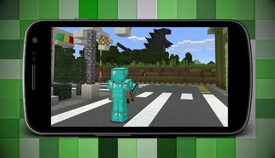 Mod of Godzilla Add-on for Minecraft MCPE - náhled