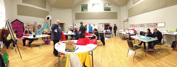 Photo: Panorama number 3 and final few minutes of workshop